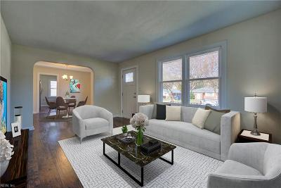 Norfolk Single Family Home New Listing: 227 Rogers Ave