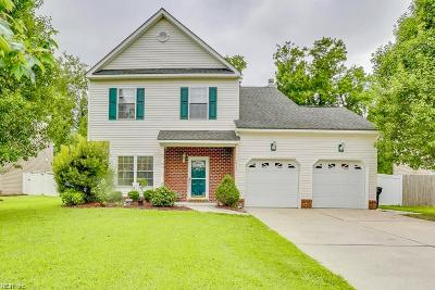 Virginia Beach Single Family Home New Listing: 513 Liberty Ct
