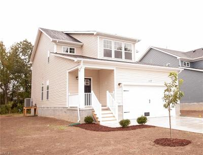 Chesapeake Single Family Home New Listing: 108 Jones St