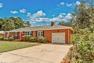 Virginia Beach Single Family Home New Listing: 5169 Anvers Rd
