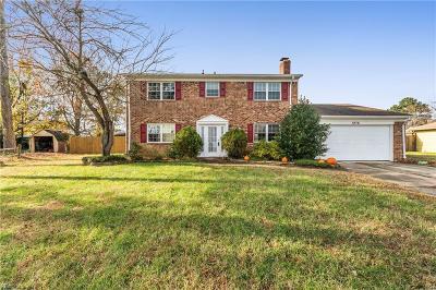 Virginia Beach Single Family Home New Listing: 1976 Blue Knob Rd