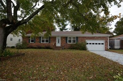 Virginia Beach Single Family Home New Listing: 6104 Tradewinds Ct