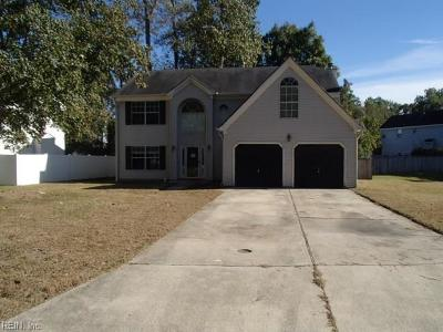 Suffolk Single Family Home New Listing: 3719 Finish Line Arch