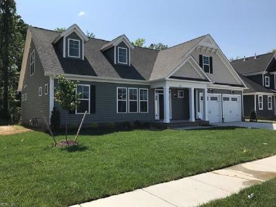 Chesapeake Single Family Home Under Contract: 441 Stonetrail Rn