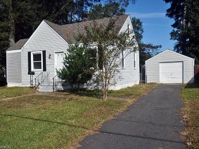 Portsmouth Single Family Home New Listing: 124 Fairview Cir N