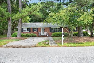 Yorktown Single Family Home New Listing: 100 Carraway Ter