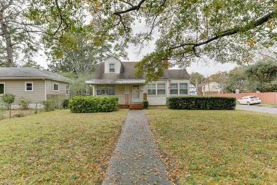 Chesapeake Single Family Home New Listing: 1600 Chesapeake Ave