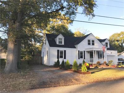 Portsmouth Single Family Home New Listing: 203 Edison Ave