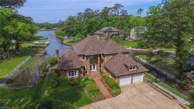 Virginia Beach VA Single Family Home New Listing: $1,595,000