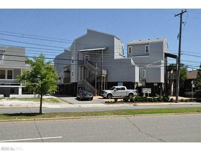 Norfolk Single Family Home New Listing: 1326 W Ocean View Ave #G