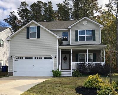 Newport News Single Family Home New Listing: 704 Cristal Dr