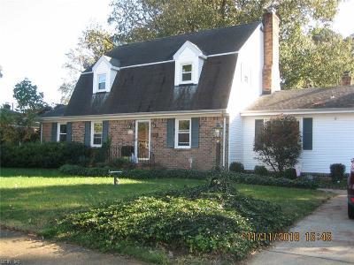Norfolk Single Family Home New Listing: 5429 Welaka Rd