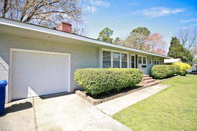 Newport News Single Family Home New Listing: 523 Lucas Creek Rd