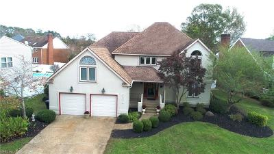 Virginia Beach Single Family Home New Listing: 1216 Chattingham Dr