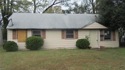 Hampton Single Family Home New Listing: 105 Baldwin Ter
