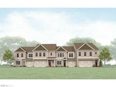 Chesapeake Single Family Home Under Contract: 135 Repose Ln #58