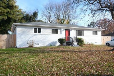 Virginia Beach Single Family Home New Listing: 404 Duplin St