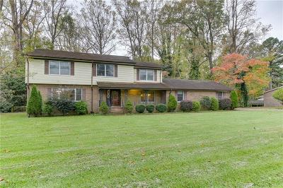 Suffolk Single Family Home New Listing: 2929 Old Wharf Rd