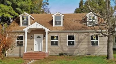 Hampton Single Family Home New Listing: 903 E Mercury Blvd