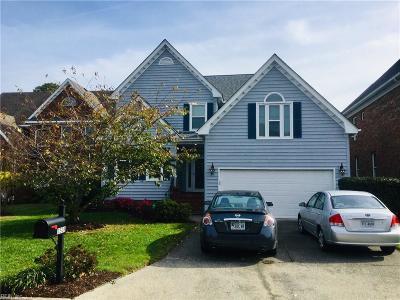 Norfolk Single Family Home For Sale: 3508 Colmar Qrt