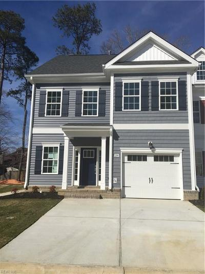 Yorktown Single Family Home Under Contract: 208 Wineberry Way