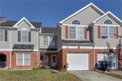 Virginia Beach Single Family Home New Listing: 2560 Hartley St