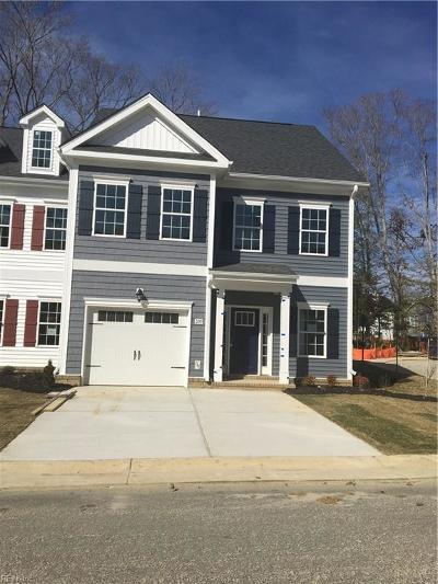 Yorktown Single Family Home Under Contract: 200 Wineberry Way