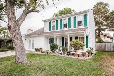 Virginia Beach Single Family Home New Listing: 1940 Nettle St