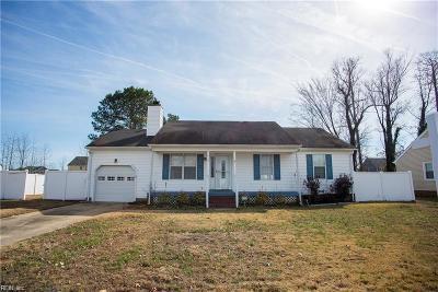 Chesapeake Single Family Home New Listing: 415 Mishannock Way