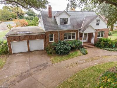 Norfolk Single Family Home New Listing: 275 Sir Oliver Rd