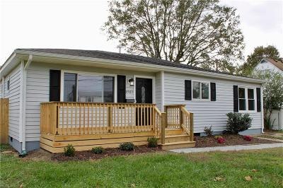 Virginia Beach Single Family Home New Listing: 4905 Sullivan Blvd