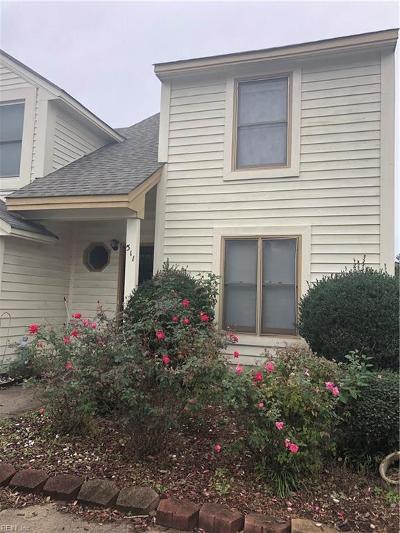 Chesapeake Single Family Home New Listing: 511 Long Pt