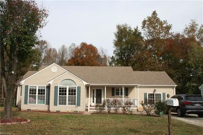 Williamsburg Single Family Home New Listing: 111 Hickory Hills Dr