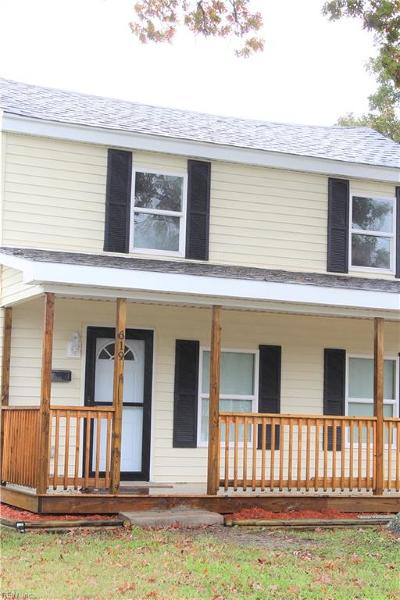 Suffolk Single Family Home New Listing: 619 Railroad Ave