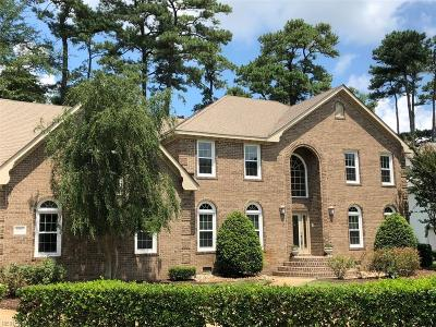 Virginia Beach VA Single Family Home New Listing: $825,000