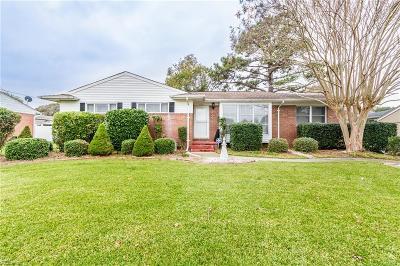 Norfolk Single Family Home New Listing: 8141 Deerfield Rd