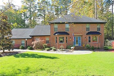 Yorktown Single Family Home New Listing: 113 Loblolly Dr