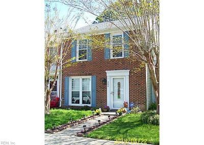 Yorktown Single Family Home New Listing: 306 Arabian Cir