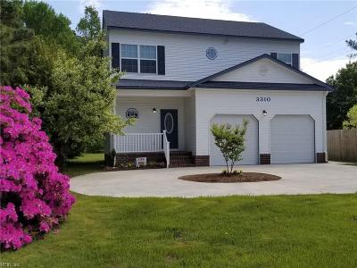 Norfolk Single Family Home New Listing: 3310 Sewells Point Rd