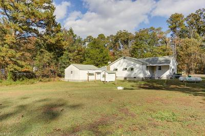 Carrollton Single Family Home New Listing: 10760 Smiths Neck Rd