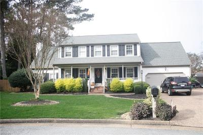 Newport News Single Family Home Under Contract: 359 Waterfowl Ln