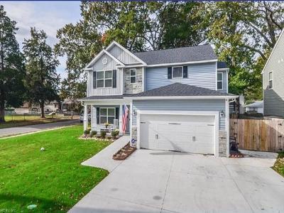 Norfolk Single Family Home New Listing: 8839 Devon St