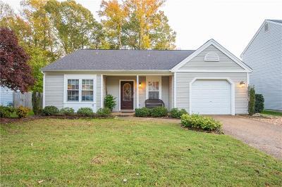 Newport News Single Family Home New Listing: 240 Ashridge Ln