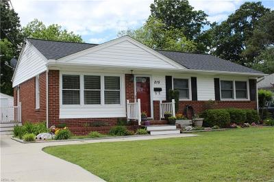 Hampton Single Family Home New Listing: 215 Dover Rd