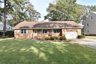 Virginia Beach Single Family Home New Listing: 5924 Woodhaven Ct