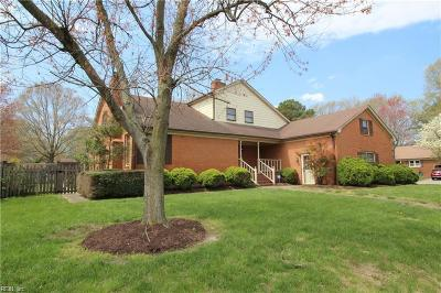 Chesapeake Single Family Home New Listing: 1441 Waterside Dr