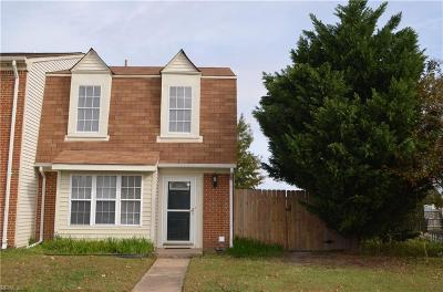 Virginia Beach Single Family Home New Listing: 849 Spence Cir