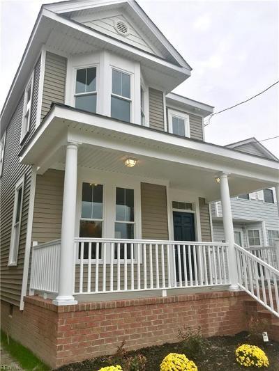Norfolk Single Family Home New Listing: 906 Pollard St