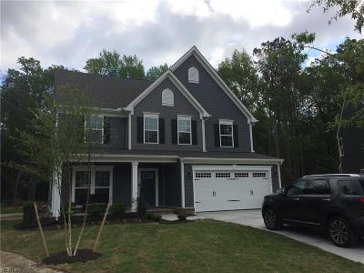 Chesapeake Single Family Home Under Contract: 2100 Tall Pine Dr