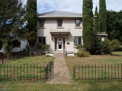 Hampton Single Family Home New Listing: 821 Blair Ave